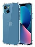 iPhone 13 Mini Ultra İnce Şeffaf Silikon Kılıf