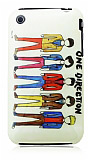 iPhone 3G / 3GS One Direction Sert Parlak Rubber K�l�f
