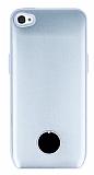 iPhone 4 / 4S Bataryalı Silver Kılıf