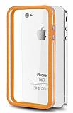 iPhone 4 / 4S Bumper �er�eve Turuncu K�l�f