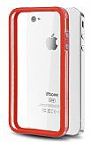 iPhone 4 / 4S Bumper �er�eve K�rm�z� K�l�f