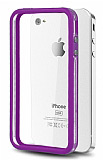 iPhone 4 / 4S Bumper �er�eve Mor K�l�f