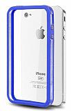 iPhone 4 / 4S Bumper �er�eve Lacivert K�l�f