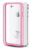 iPhone 4 / 4S Bumper �er�eve Pembe K�l�f