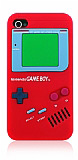 iPhone 4 / 4S Game Boy K�rm�z� K�l�f