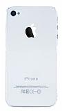 iPhone 4 / 4S Tam Koruma Şeffaf Kristal Kılıf