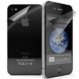 iPhone 4 / iPhone 4S Ön + Arka Mat Ekran Koruyucu Film