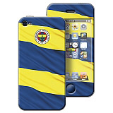 Fenerbah�e iPhone 4/4S �anl� Bayrak Lisansl� Sticker