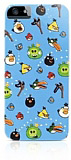 iPhone 5 / 5S Angry Birds Classic Mavi Rubber K�l�f