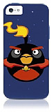 iPhone SE / 5 / 5S Angry Birds Fire Bomba Silikon K�l�f
