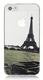 iPhone 5 / 5S Eiffel Ultra �nce Silikon K�l�f