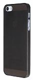 iPhone 5 / 5S �nce Kristal �effaf Siyah K�l�f