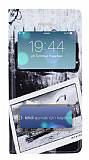 iPhone 5 / 5S Pencereli �nce Kapakl� �stanbul K�l�f