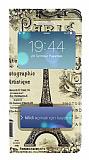 iPhone 5 / 5S Pencereli �nce Kapakl� Paris K�l�f