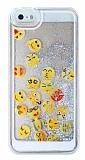 iPhone 5 / 5S Sulu �konlar Rubber K�l�f