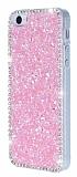 iPhone 5 / 5S Ta�l� Pembe Rubber K�l�f