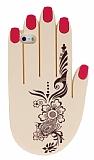 iPhone SE / 5 / 5S Tattoo Hand Silikon K�l�f