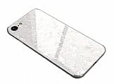 iPhone 6 / 6S Granit Desenli Beyaz Rubber Kılıf