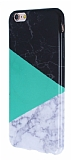 iPhone 6 / 6S Granit Görünümlü Yeşil Silikon Kılıf