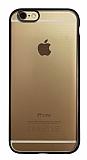 iPhone 6 / 6S Siyah Kenarlı Mat Silikon Kılıf