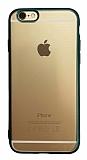 iPhone 6 / 6S Yeşil Kenarlı Mat Silikon Kılıf