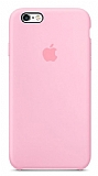 iPhone 6 / 6S Orjinal Pembe Silikon Kılıf