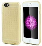 iPhone 6 / 6S Su Ge�irmez �effaf Gold K�l�f