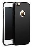 iPhone 6 / 6S Tam Kenar Koruma Siyah Rubber Kılıf
