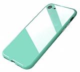 iPhone 6 Plus / 6S Plus 360 Derece Koruma Manyetik Yeşil Cam Kılıf