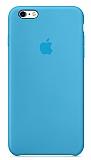 iPhone 6 Plus / 6S Plus Orjinal Mavi Silikon Kılıf