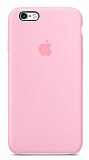 iPhone 6 Plus / 6S Plus Orjinal Pembe Silikon Kılıf