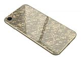 iPhone 7 / 8 Granit Desenli Gold Rubber Kılıf