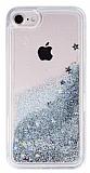iPhone 7 / 8 Sulu Silver Rubber Kılıf