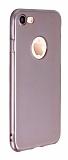 iPhone 7 / 8 Ultra İnce Parlak Rose Gold Silikon Kılıf