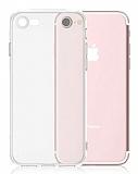 Dafoni iPhone 7 Kamera Korumalı Şeffaf Silikon Kılıf