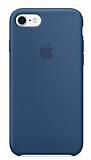 iPhone 7 Orjinal Ocean Blue Silikon Kılıf