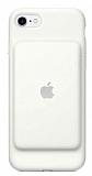 iPhone 7 Orjinal Smart Battery Bataryalı Beyaz Kılıf