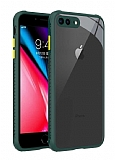iPhone 7 Plus / 8 Plus Ultra Koruma Kaff Koyu Yeşil Kılıf