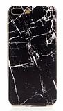 iPhone 7 Plus / 8 Plus Granit Görünümlü Siyah Silikon Kılıf