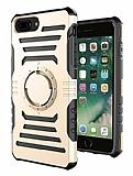 iPhone 7 Plus Kol Bandı Özellikli Ultra Koruma Gold Kılıf