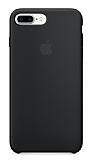 iPhone 7 Plus Orjinal Siyah Silikon Kılıf