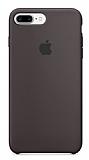 iPhone 7 Plus Orjinal Cocoa Silikon Kılıf