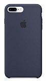 iPhone 7 Plus Orjinal Midnight Blue Silikon Kılıf