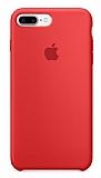 iPhone 7 Plus Orjinal Kırmızı Silikon Kılıf
