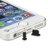 iPhone - iPad Lightning Siyah Toz Önleyici Kapaklar