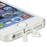 iPhone - iPad Lightning Beyaz Toz Önleyici Kapaklar