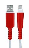iPhone Kırmızı Kablo Koruyucu