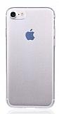 iPhone SE 2020 Ultra İnce Şeffaf Silikon Kılıf