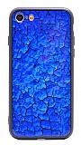 iPhone SE / 5 / 5S Marble Lacivert Silikon Kılıf