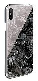 iPhone X / XS Granit Desenli Siyah Rubber Kılıf